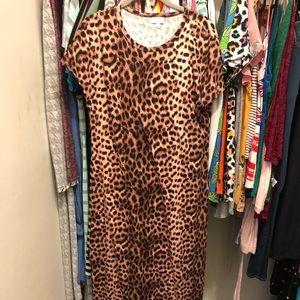 🦄👗NWOT Leopard LLR Maria Maxi Dress👗🦄